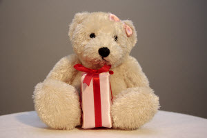 Stuffed teddy bear image